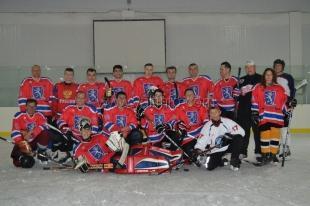 Ялтинский «Белый лев» провёл очередной матч чемпионата Крыма по хоккею