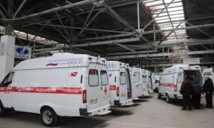 Районные станции скорой помощи в Крыму получили 50 новых машин
