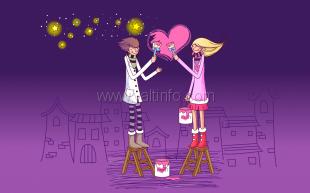 В ялтинском Центре детско-молодёжного досуга отметили День святого Валентина