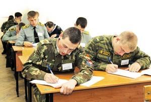 Объявлен набор в военно-учебные заведения