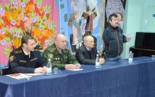 В преддверии Дня защитника Отечества с ялтинскими детьми встретились сотрудники военного комиссариата