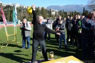 На ялтинском стадионе «Авангард» стартовал большой спортивный праздник