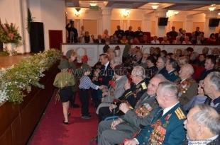 В Ялте чествовали защитников Отечества