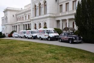 Ялта встретила участников автомарша «Наша Великая Победа»