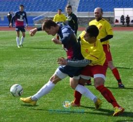 Ялтинский «Рубин» готовится к чемпионату Крыма по футболу