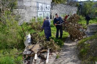 В рамках подготовки к курортному сезону в Ялте продолжаются систематические уборки