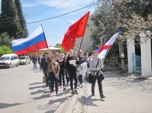 Симеиз отметил 71-ю годовщину со дня освобождения от оккупантов