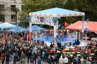Андрей Ростенко дал старт II Чемпионату Евразии по боевому самбо «Единство»