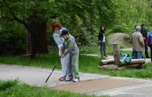 В Ялте возрождают традиции городошного спорта