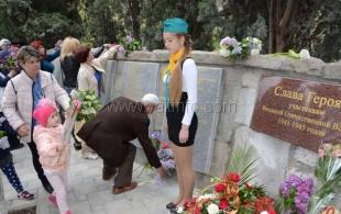 В Кореизе открыли мемориал «Аллея Славы»