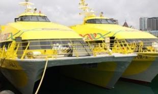 ЕТД отменила курсирование катамарана из Анапы в Ялту