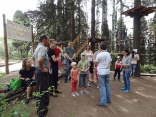 В Приморском парке прошла эстафета «Семейная тропа»