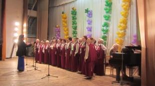 В Ялтинском центре культуры состоялся отчётный концерт Народного хора ветеранов