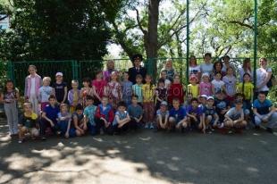 «Линейка мужества» в Гаспринской начальной школе