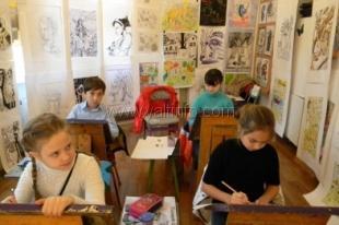 Ялтинская художественная школа им. Ф.А.Васильева объявляет набор учащихся в первый класс на 2015-2016 учебный год