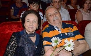 В Ялте чествовали супружеские пары, прожившие в любви и согласии более четверти века