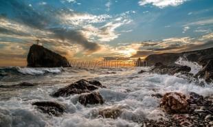 У берегов Крыма море прогрелось до +27 градусов