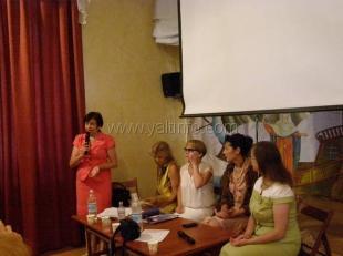 Представительницы Ялтинского отделения Союза женщин России поделились опытом своей работы