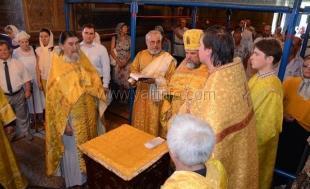 В храме Александра Невского прошёл молебен во славу города Ялта