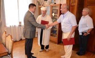Андрей Ростенко встретился с главным имамом Ялтинского региона