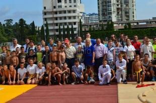 В Ялте состоялось первенство Крыма по сумо