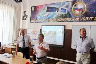 В Ялтинском УВК № 9 «Школа-лицей» открылся первый в Республике Крым школьный Центр космических услуг