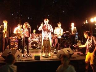 В Ялте, в помощь четырёхмесячному Саше Мельнику, прошёл благотворительный концерт местной группы «South Band»