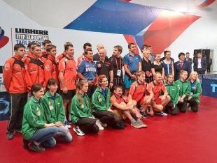 Ялтинцы побывали на чемпионате Европы по настольному теннису