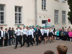 Ялтинские школьники приняли участие в военно-патриотическом слёте