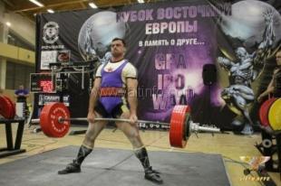 Ялтинский спортсмен стал победителем Кубка Восточной Европы по пауэрлифтингу