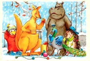 «Поляна сказок» приглашает на новогоднюю ёлку