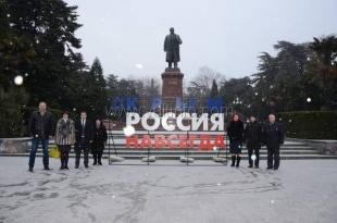 Андрей Ростенко присоединился к акции «#КрымРоссияНавсегда»
