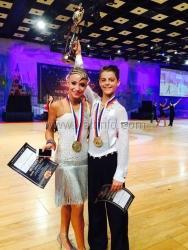 Ялтинцы заняли четвёртое место на Первом блоке Чемпионатов и Первенств России по танцевальному спорту