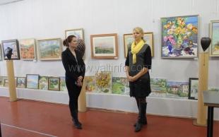 В Никитском ботаническом саду открылась выставки живописи и графики «Воспоминания об осени»