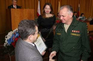 Ялтинцев наградили в преддверии Дня защитника Отечества