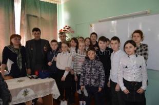 В Гаспринской школе №1 прошёл урок памяти, посвящённый Афганской войне