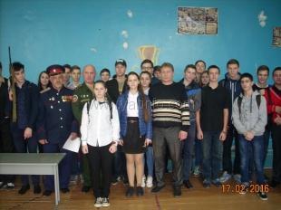 Воспитанников ялтинской школы ознакомили с особенностями профессии военного