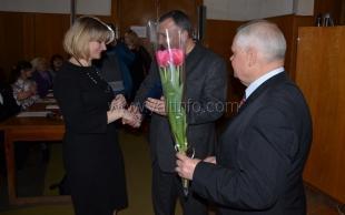 Ялтинских женщин поздравили с наступающим праздником 8 Марта