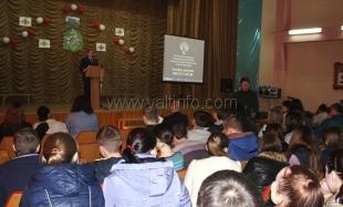 Студенты ялтинских колледжей приняли участие в антинаркотической акции