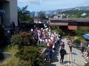 В Ялте прошла акция «Стоп СПИД»