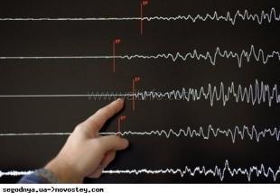 В Черноморской впадине зарегистрировано землетрясение
