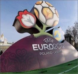 В Крыму к началу Евро-2012 появятся три фан-зоны