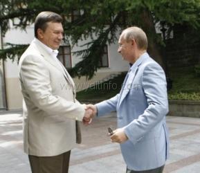 12 июля в Ялте состоится встреча Януковича и Путина