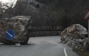 Дорога на Ай-петри временно закрыта