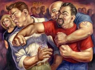 Пьяная драка в Гурзуфе - убит житель Сак