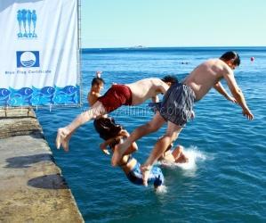 В Ялте прошел 3-й чемпионат по прыжкам в воду