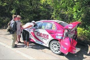 Рекорд Prime Yalta Rally - разбито 58 автомобилей