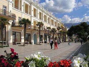 На ялтинской набережной появится новый комплекс и светомузыкальный фонтан