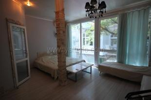 Однокомнатная квартира- студия с панорамными окнами